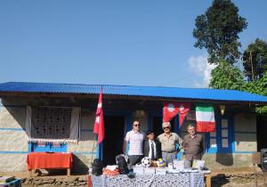 INAUGURAZIONE SCUOLA BEESI (NEPAL)