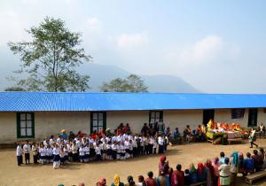 INAUGURAZIONE SCUOLA CHANDANE (NEPAL)