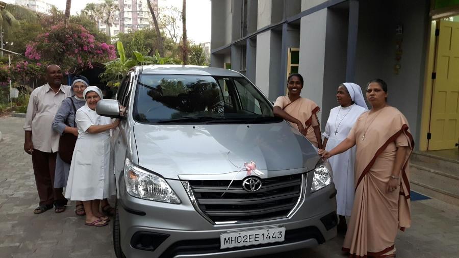 Acquisto Auto per Missione Vimala Mumbai