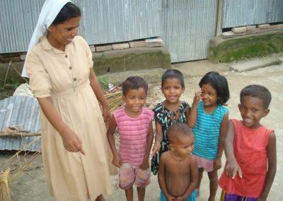 Bambini con suora 2009 Boldipukur